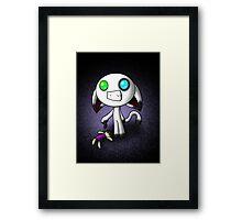 Bink and His Creepy Doll Framed Print