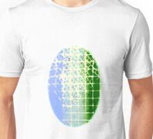 Blue Green Squared Unisex T-Shirt