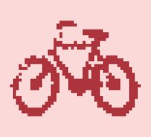1 bit pixel bike (red) by Pekka Nikrus