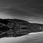 B&W Twisted lakes pano by Claire Walsh