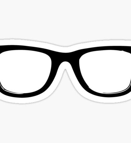 Nerd Glasses Sticker