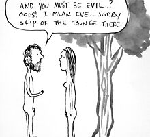 adam&evil by Loui  Jover