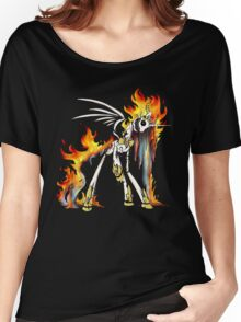 My Little Pony - MLP - FNAF - Nightmare Star Animatronic Women's Relaxed Fit T-Shirt