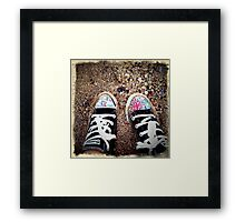 Shoe Game Framed Print