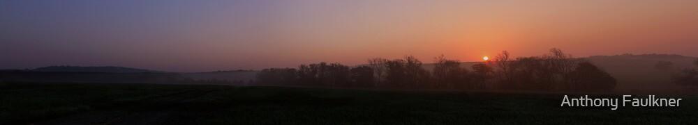 Panoramic Sunrise by Anthony Faulkner