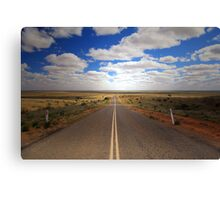 Light at the End of the Road Canvas Print
