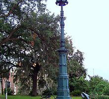 Old Savannah Light by Laurie Perry
