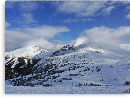 Lake Louise Ski Resort by Ryan Davison Crisp