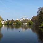 St James Park & London Eye by Helen Barnett