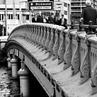 Queen's Bridge, Melbourne by Helen Barnett