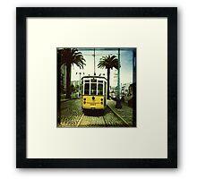 Tram, San Francisco Framed Print