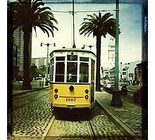 Tram, San Francisco Photographic Print
