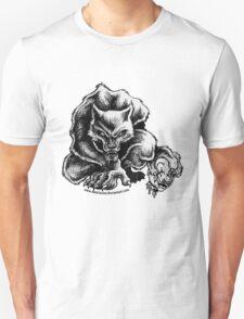 Warewolves Hate Clowns Unisex T-Shirt