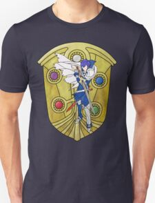 Stained Glass Chrom Unisex T-Shirt