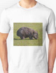 Wombat,  Mt William N.P., Tasmania Unisex T-Shirt