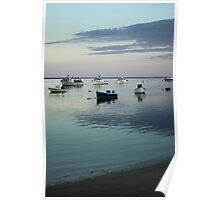 Chatham Boats at rest Poster