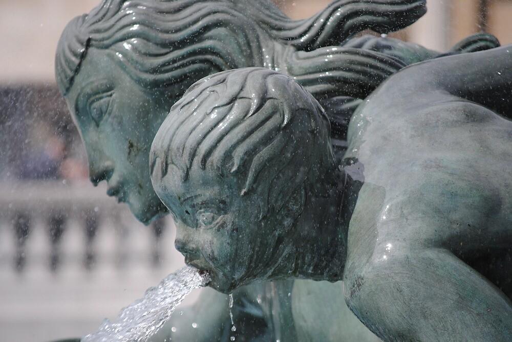 fountain series, trafalgar square by richard  webb