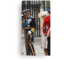PRINCE OF WALES AND CAMILA PARKER BOWLES Canvas Print