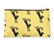 Retro kitty cat jump jive and wail Studio Pouch