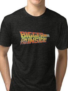 Bigger on the Inside Tri-blend T-Shirt
