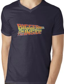 Bigger on the Inside Mens V-Neck T-Shirt