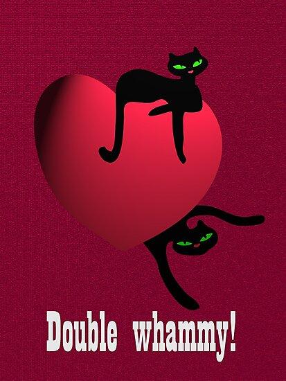 Double cat whammy by patjila