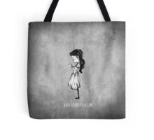 Girl with Necklace Tote Bag