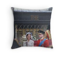 KATE AND WILLIAM  Throw Pillow