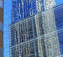 Skyscraper Reflection by Margan  Zajdowicz