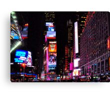 Times Square, New York in December, 2010 Canvas Print