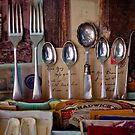 Forks and Spoons by beanphoto