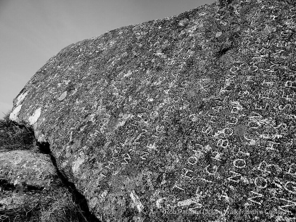 Dartmoor: The Ten Commandments Stone by Rob Parsons