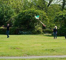 Kite Flying by John Hare