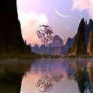 Derelict Spaceship - Lake of Tears by SpinningAngel