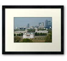 Greenwich Park View Framed Print