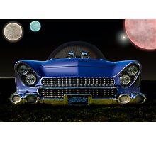 "1955 Ford ""Beatnik Bubbletop"" Intergalactic Planetary Photographic Print"
