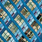 Wavy Reflections on a Building at Harbourfront by Gerda Grice