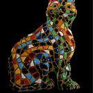 Full Colour Mosaic Cat by patjila