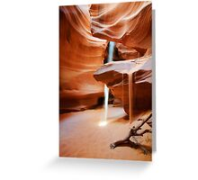 Antelope Canyon II Greeting Card
