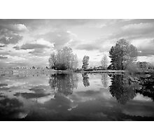 and sky touches water... Photographic Print