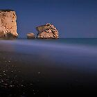 After Dark On Aphrodite&#x27;s Rock by Aj Finan