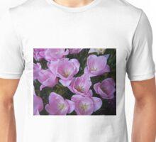 Lilac Tulips, Table Cape Tulip Farm, Tasmania. Unisex T-Shirt