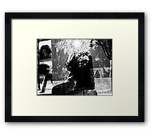 Alternate Reality-Self-Portrait Framed Print