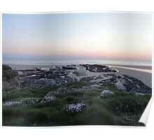 crooklets beach bude cornwall Poster