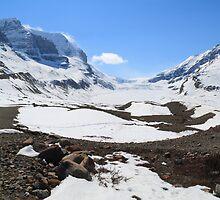 Snow covered glacier by zumi