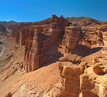 canyon  Charyn, Central Asia, Kazakhstan   by Medeu
