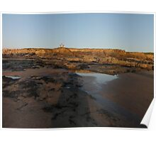 rock pools bude Poster