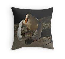Duck Duck Throw Pillow