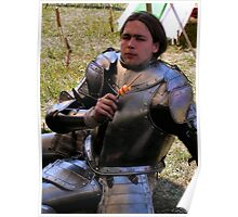 A privileged wit-cracking Knight Poster