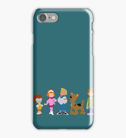 A Pup Named Scooby Doo Gang iPhone Case/Skin